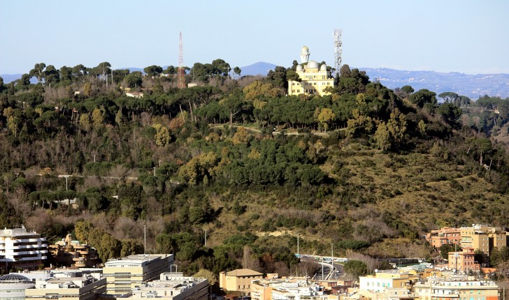 The view from Rome's highest Hill