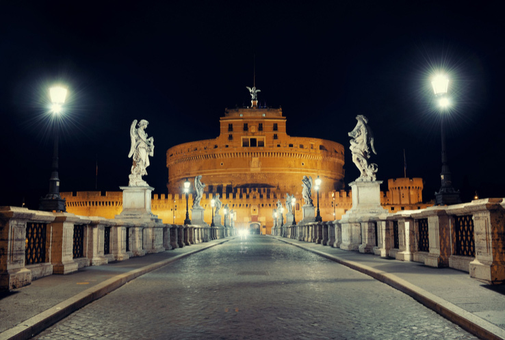 ghost of castel sant'angelo