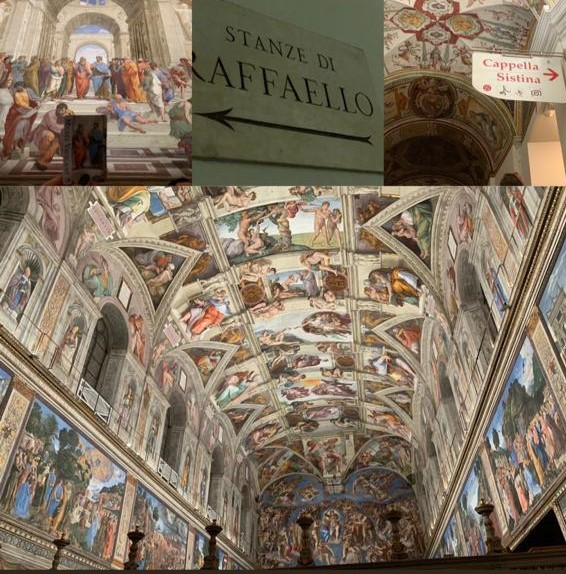 Raphael rooms & Sistine Chapel